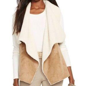 Ralph Lauren Shearling Vest Size XL